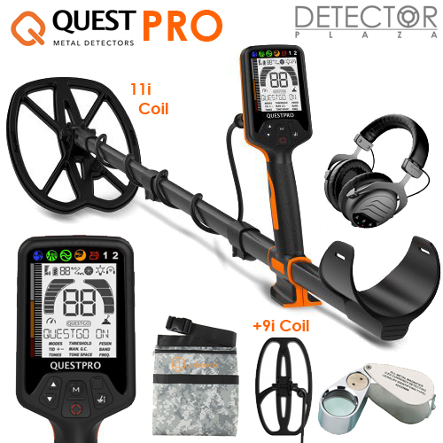 Deteknix Quest PRO Waterproof Metaaldetector