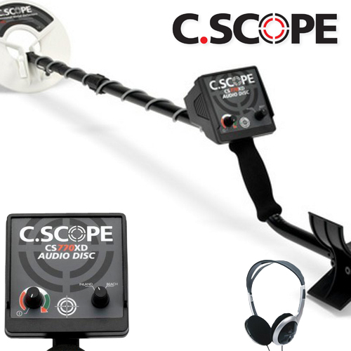 C.Scope 770XD Non-Motion Metaaldetector