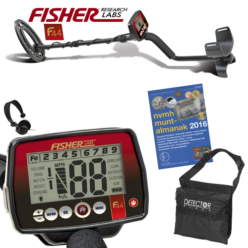 Fisher F44 Metaaldetector