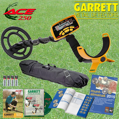 fdb88b91f96 Garrett Ace 250 ACTIE metaaldetector