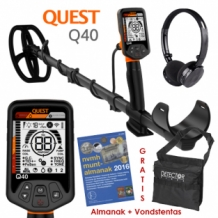 Quest Q40 metaaldetector