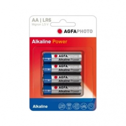 Batterij AA Alkaline High Power Agfa b4pc