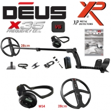XP Deus 28X35-WS4 Wireless Metaaldetector