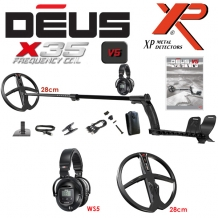 XP Deus 28X35-WS5 Wireless Metaaldetector