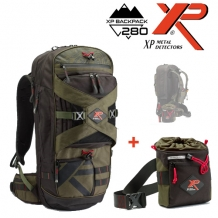 XP Backpack 280 en Pouch voor XP Deus en ORX